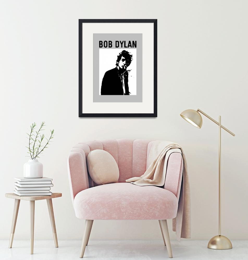 """""""Tribute to Bob Dylan II"""" (2020) by BlackLineWhite"""