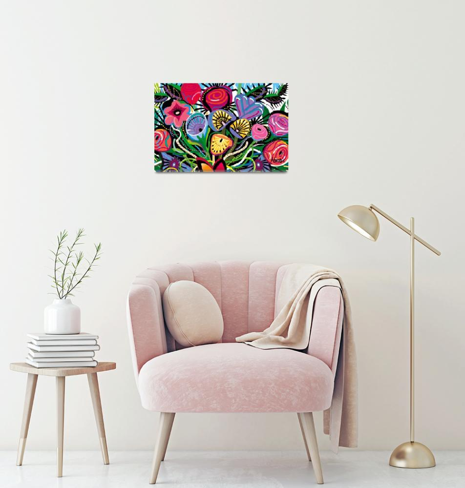 """""""Bouquet All Over""""  (2018) by charker"""