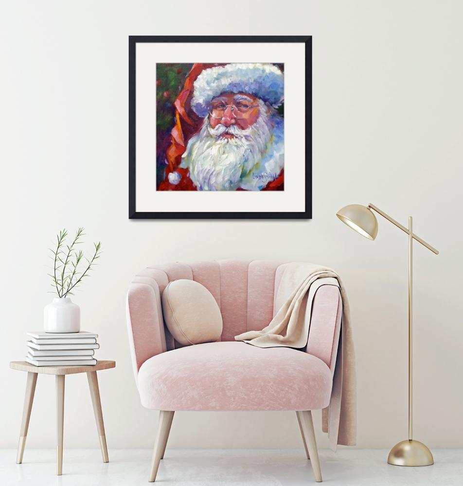 """Colorful Santa, 2011""  (2011) by offthewallart"