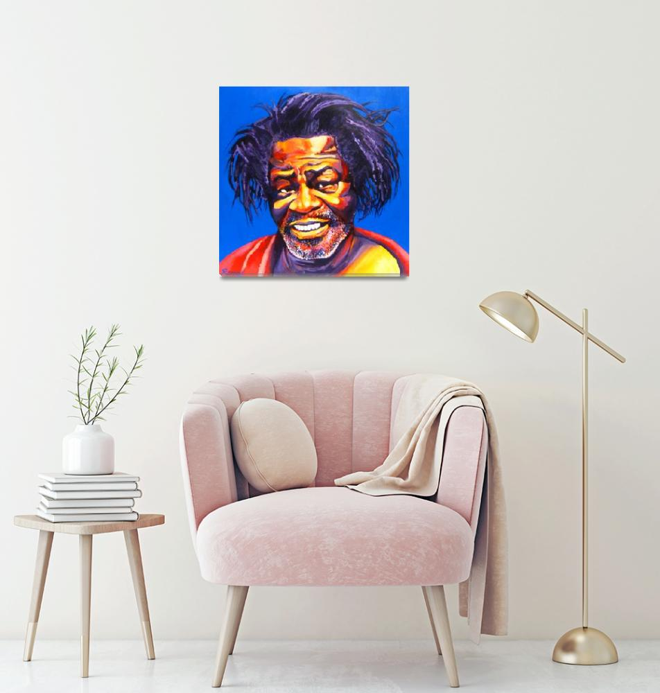"""James Brown Mug Shot""  (2005) by RamosStudios"