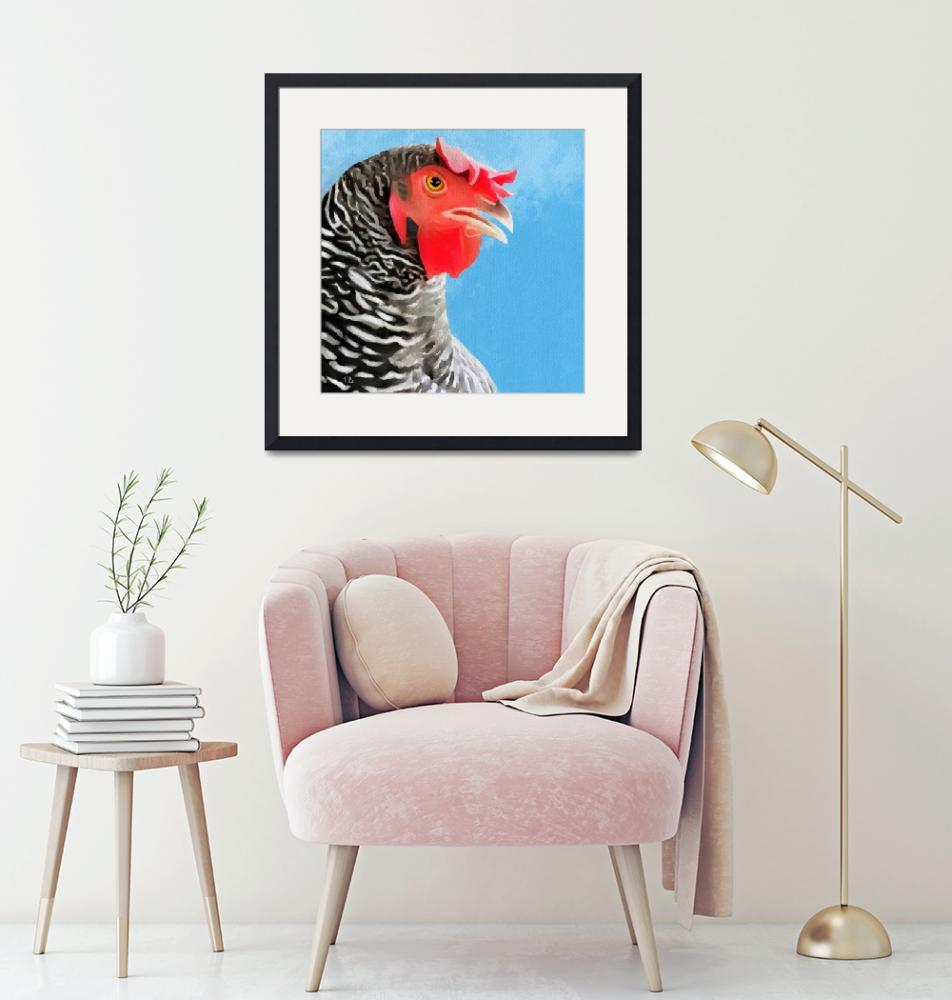 """wilma the hen""  (2018) by tammyleebradley"