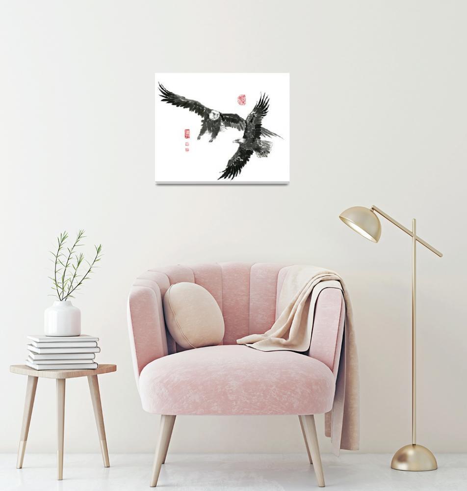 """Eagle - 19""  by RiverHan"