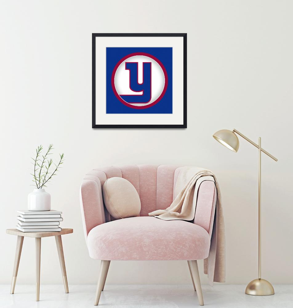 """""""Y-NY-Giants""""  by LetterPopArt"""