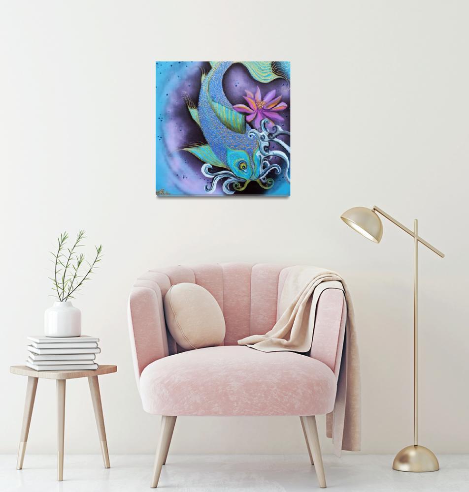 """Dragon Fish""  (2015) by ArtPrints"