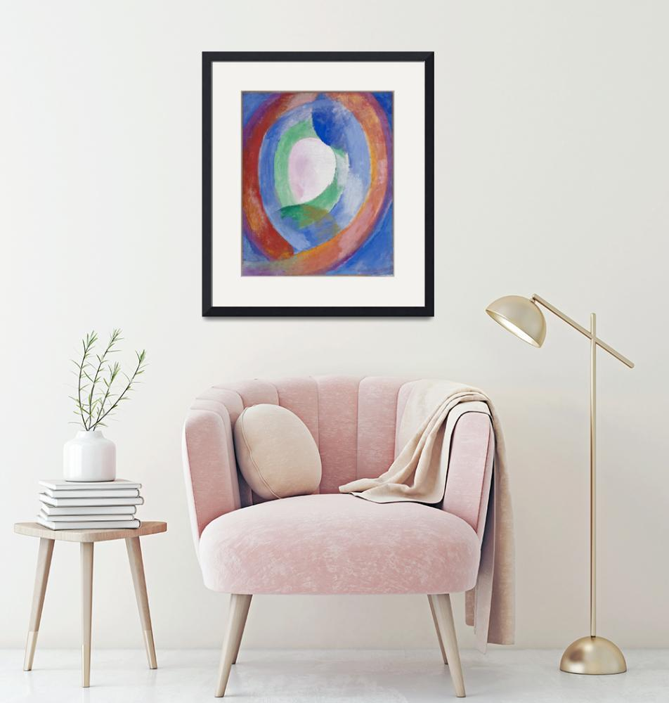 """Robert Delaunay~Formes circulaires; lune no. 1""  by Old_master"