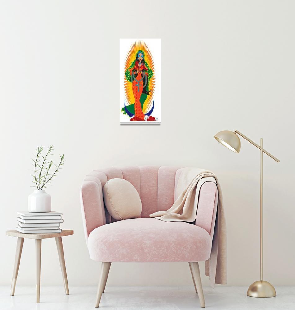 """""""La Virgen de Guadalupe""""  (2010) by Azodnem"""