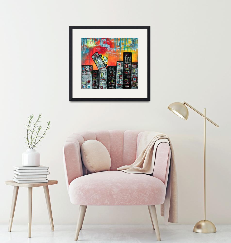 """""""In The City 2""""  (2009) by ArtPrints"""