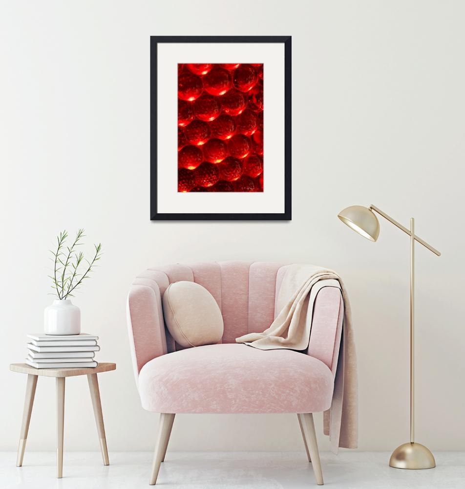 """""""Red Spheres""""  (2008) by OcularPerceptions"""