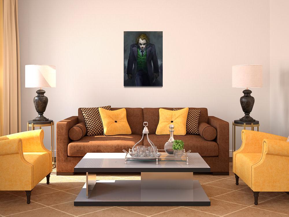 """Joker""  (2010) by carlosnct"