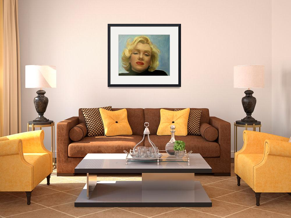 """""""Marilyn Monroe&quot  (2011) by celebrityportraits"""