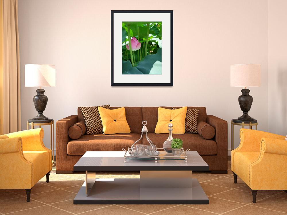 """""""LOTUS 2 on Canvas&quot  (2010) by Japanesque"""