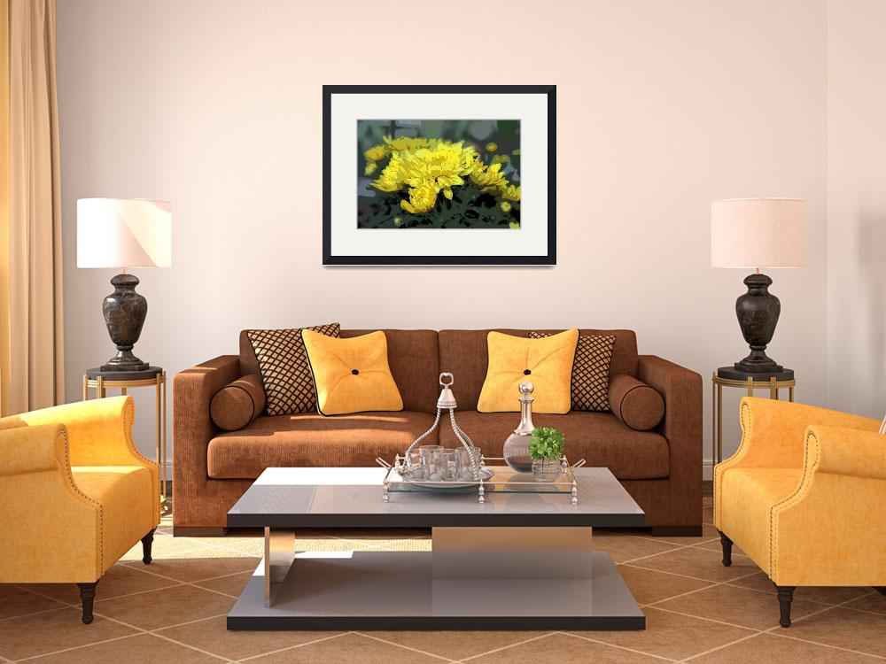 """""""YELLOW MUMS&quot  (2013) by norska43"""