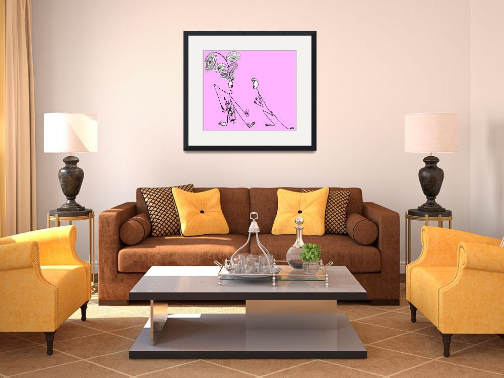 """""""Baby girl groovin&quot  (2011) by biriart"""