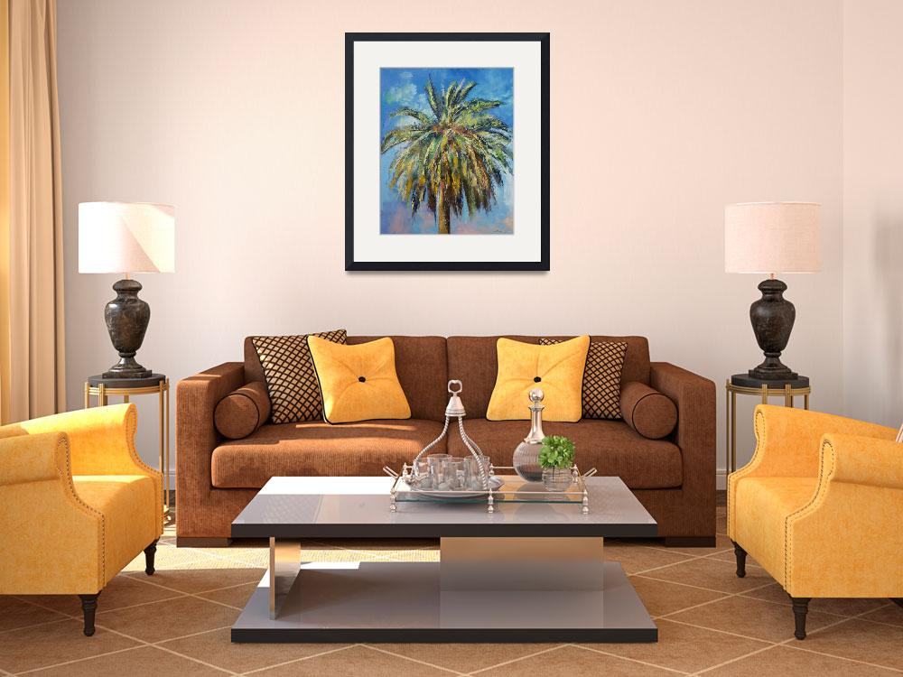 """""""Canary Island Date Palm&quot  by creese"""