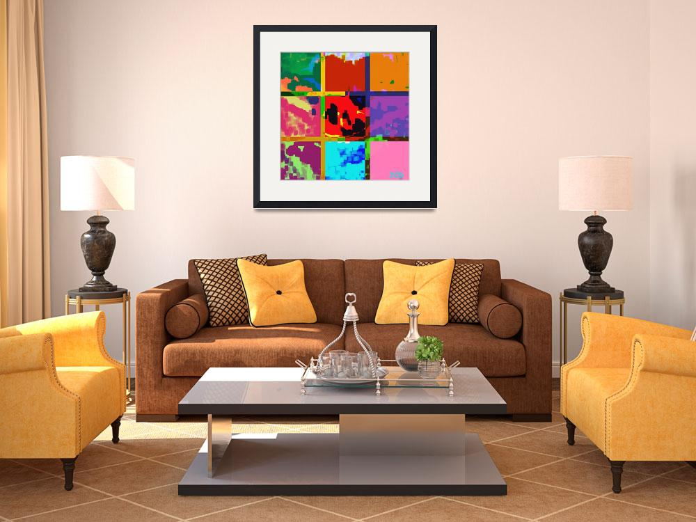 """""""petals of colors""""  (2013) by WOWPRINT"""