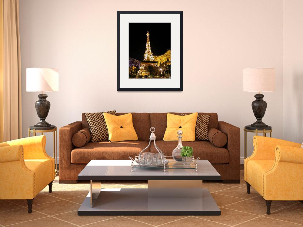 """""""Paris at Night : Vegas Style&quot  by RonScott"""
