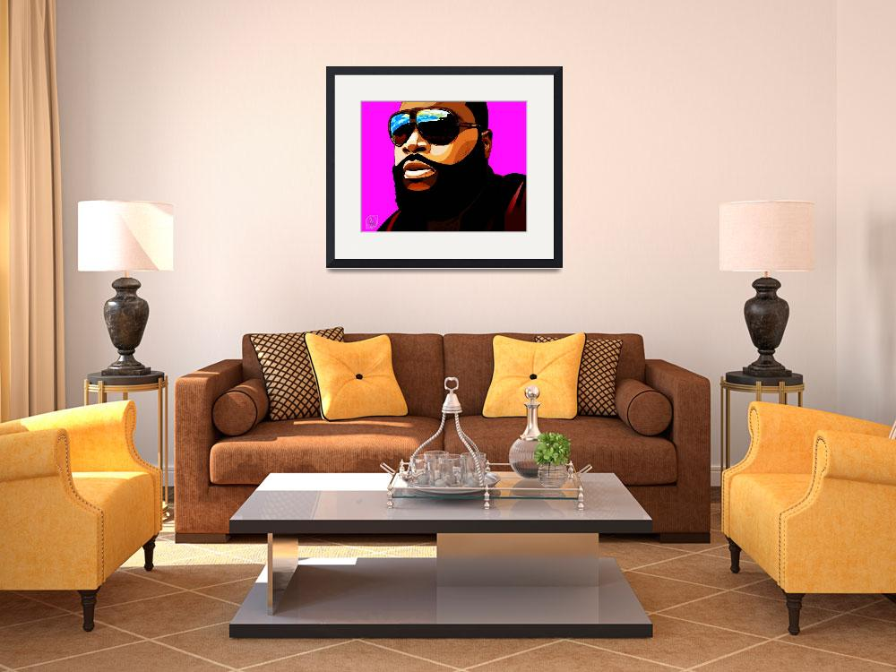 """""""Rozay&quot  (2012) by D77TheDigArtisT"""