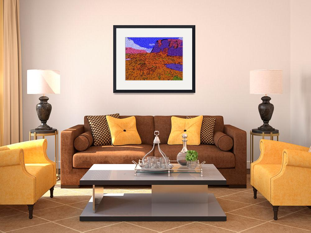 """""""The Badlands""""  (2009) by mikesartworks"""