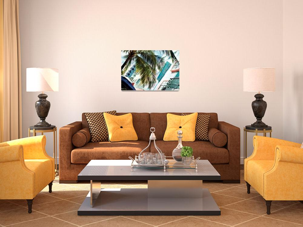 """""""South Beach Deco&quot  (2003) by PadgettGallery"""