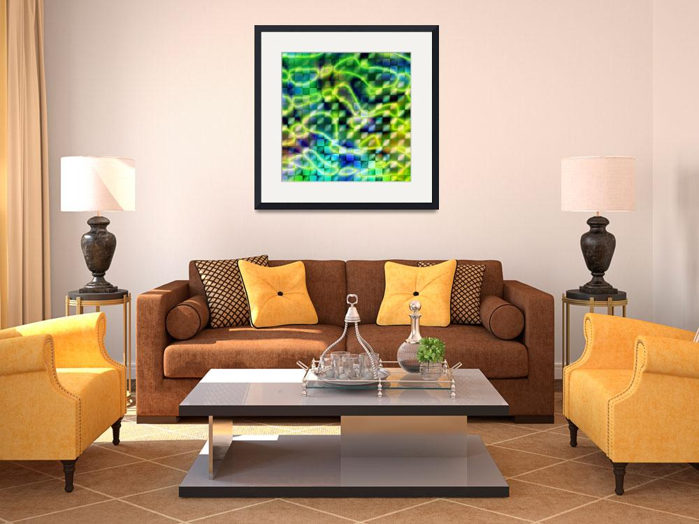 """""""abstract green&quot  (2007) by studiobrian"""