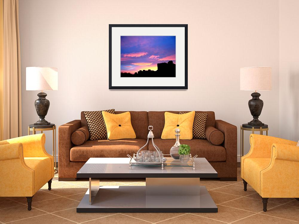 """""""Silhouette Sky&quot  (2008) by markdowdell"""