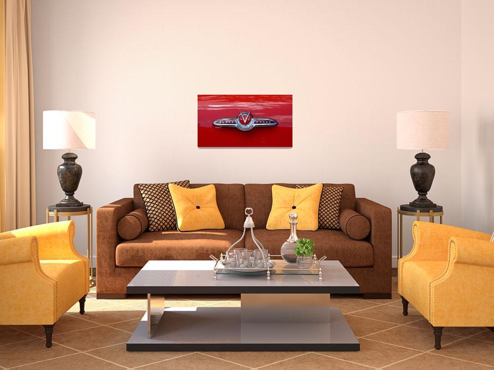 """Classic Car Buick Skylark With Rear Crest""  (2010) by garthglazier"