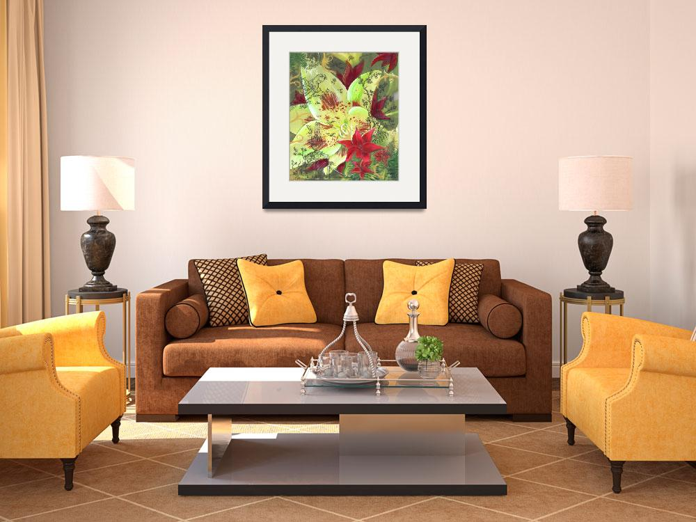 """""""Oriental Lily Garden&quot  (2007) by PHOTOSRUS"""
