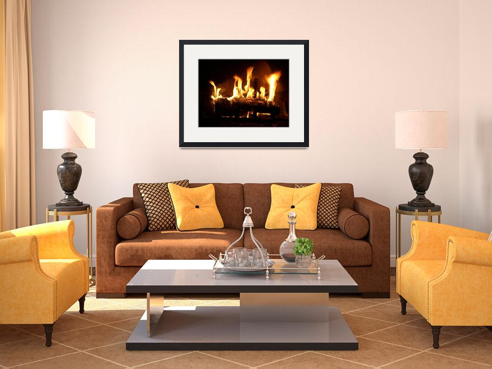 """""""Warm By the Fireplace&quot  by mjh9590"""