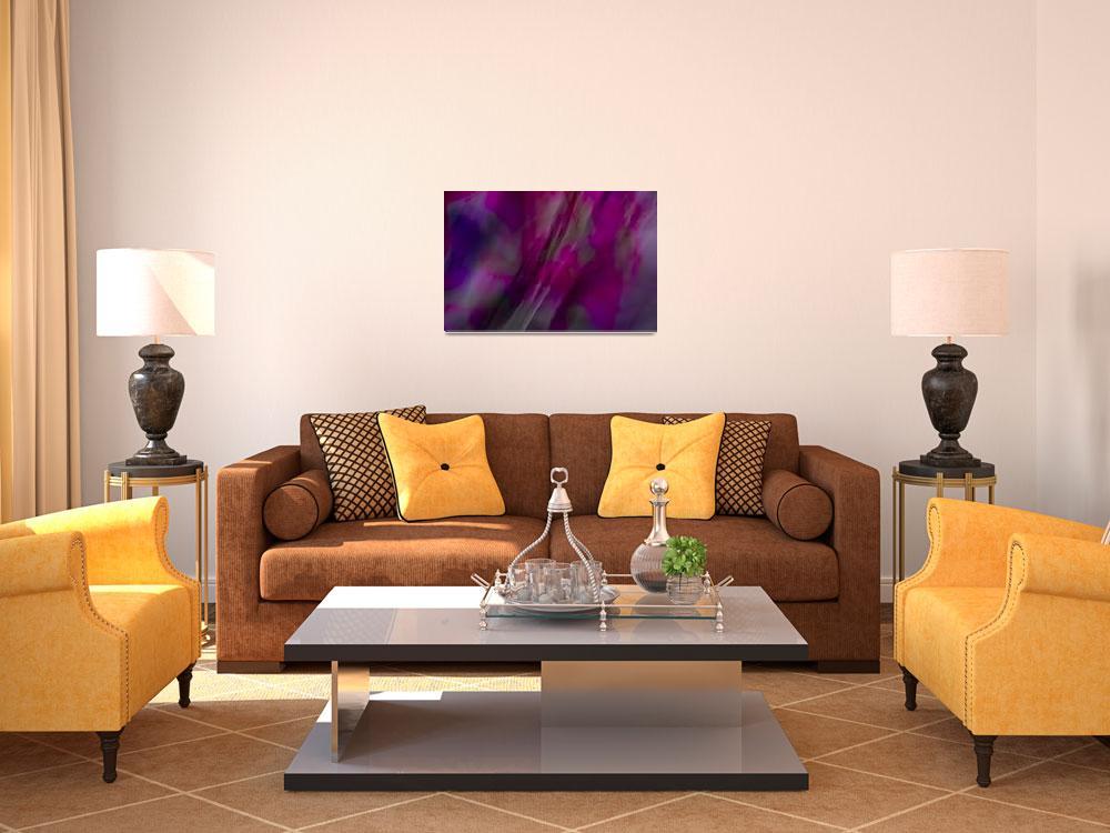 """""""Purple Flow&quot  (2009) by jmsosa"""
