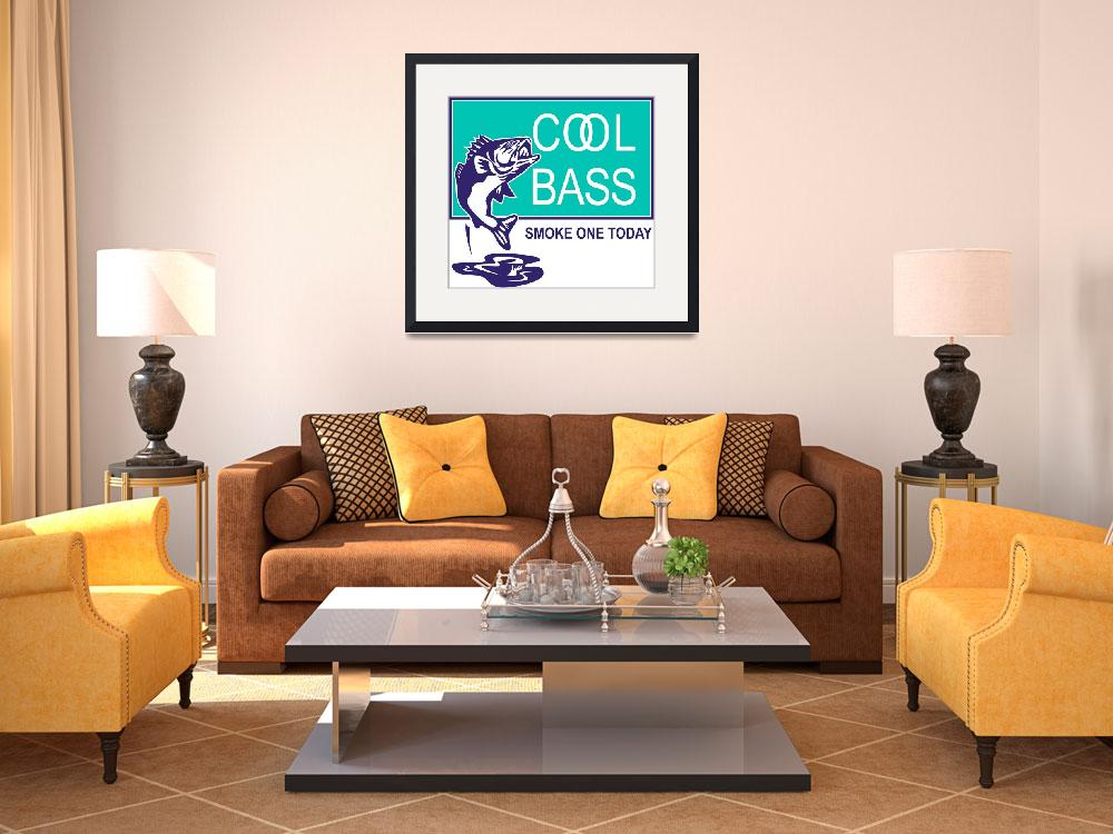 """bass largemouth jumping cool&quot  (2013) by patrimonio"