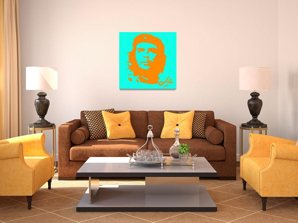 """""""Che Guevara Poster 12""""  by motionage"""