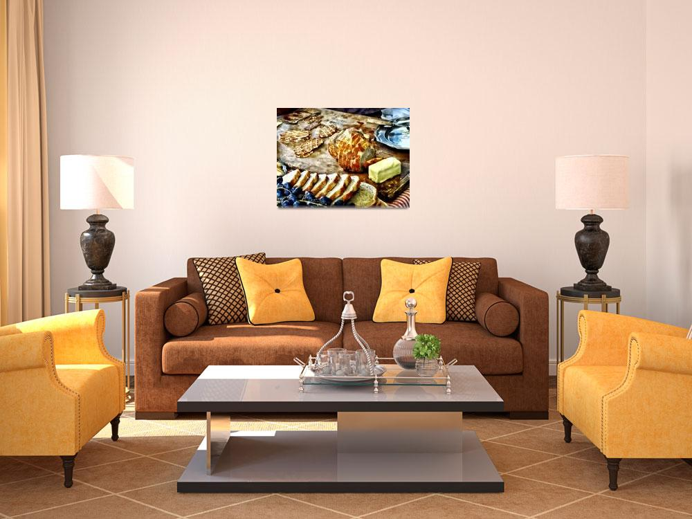 """""""Bread and Butter""""  by susansartgallery"""
