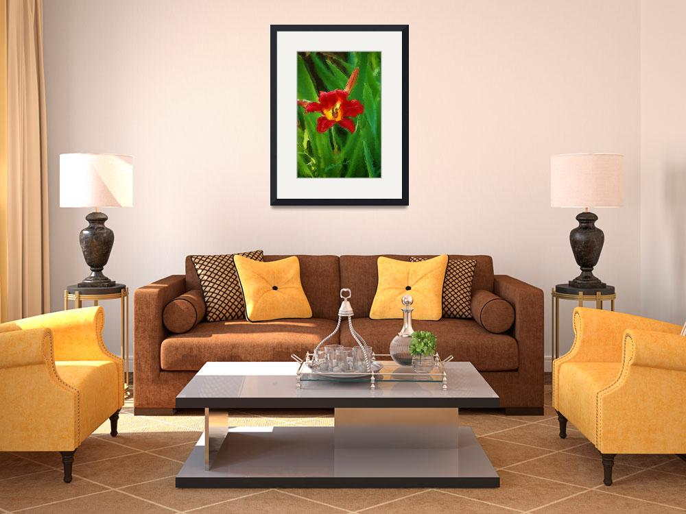 """""""Red Lilly""""  (2009) by BuddhabellyDave"""