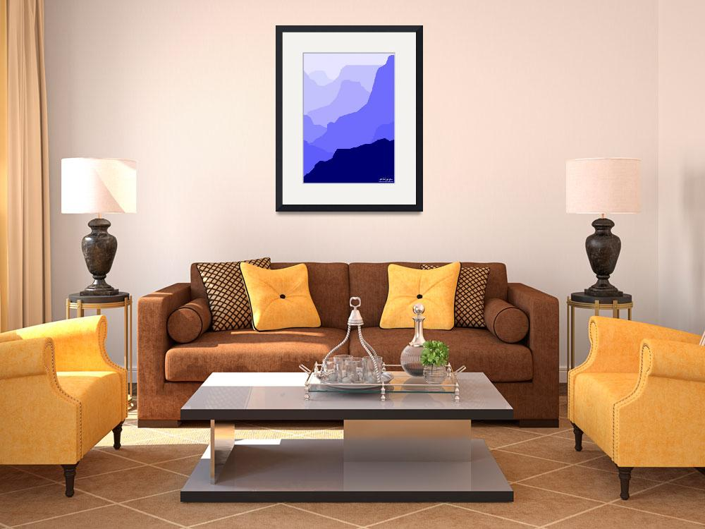 """""""Grand Canyon Blue&quot  by Lonvig"""