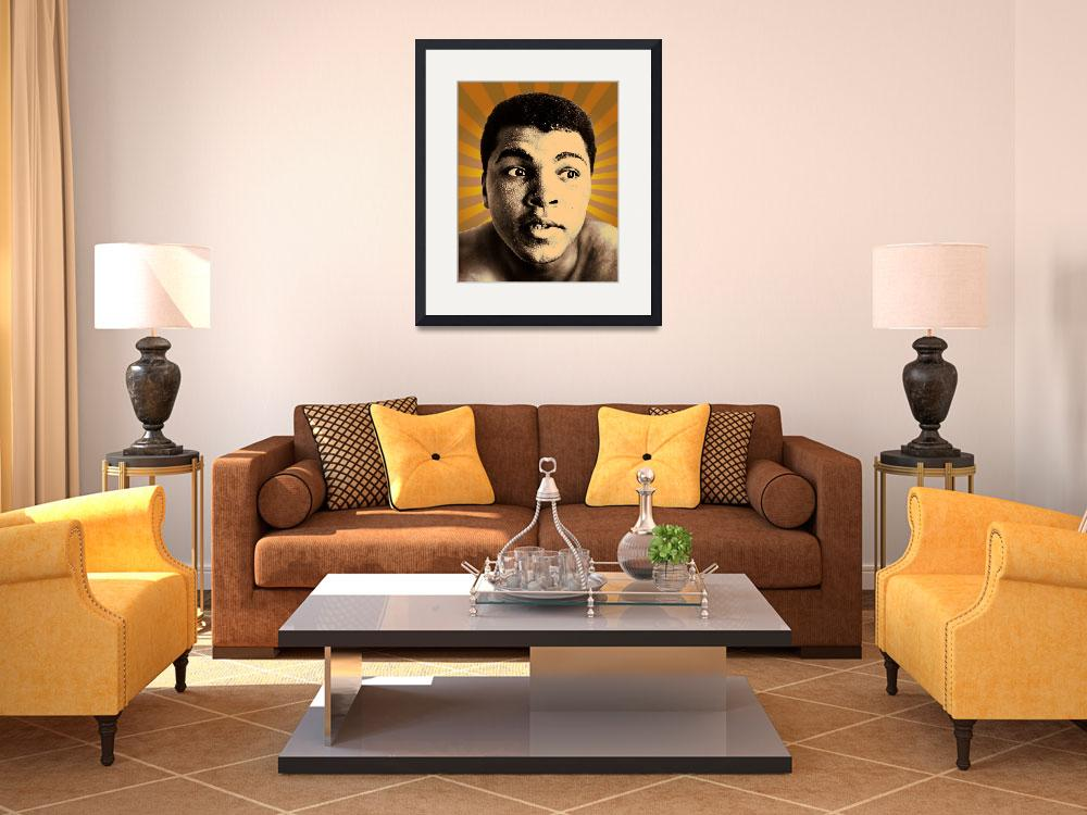 """""""Cassius Clay 1&quot  (2010) by jvorzimmer"""