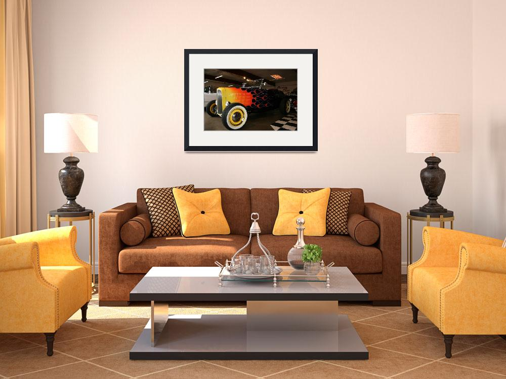 """""""HOT ROD&quot  (2010) by MWDunlop"""