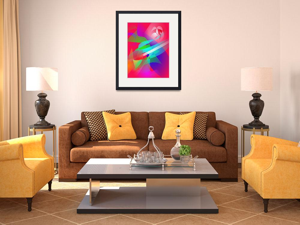 """""""Flowers in the Living Room Art""""  (2013) by masabo"""