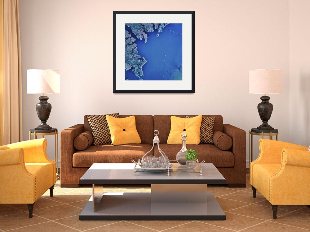 """""""Chesapeake Bay and Annapolis Maryland&quot  by stocktrekimages"""