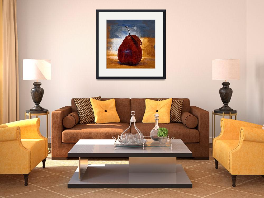 """""""The Red Pear&quot  (2013) by Kirtdtisdale"""