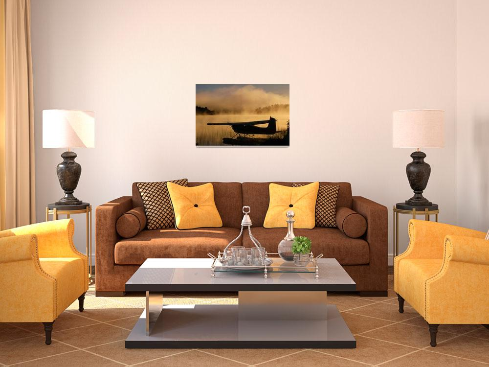 """Float Plane, Long Lake, Sudbury, Ontario, Canada&quot  by DesignPics"