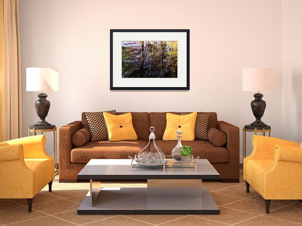 """""""Reflections Of Autumn&quot  (2010) by bavosiphotoart"""