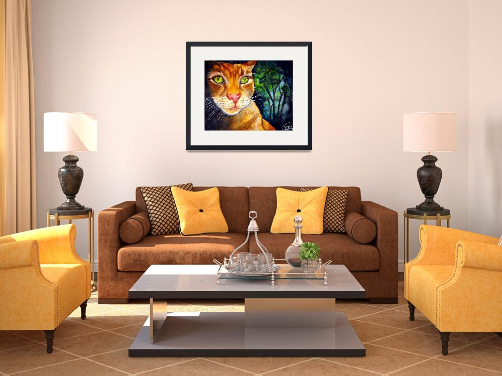 """""""Tigger of the Gardens""""  (2009) by ChrisCrowley"""