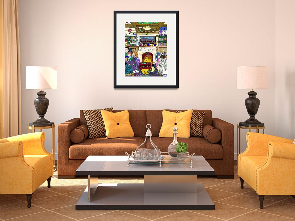 """Living Room&quot  by Genevieve"