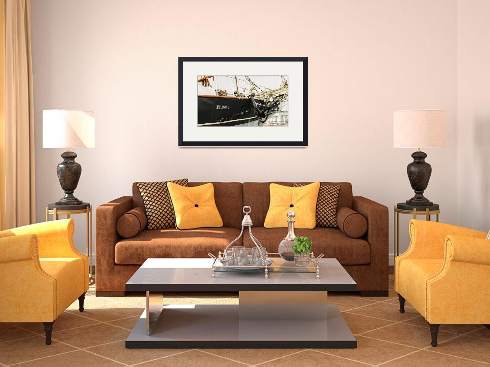 """""""Tall Ship Elissa&quot  (2013) by awsheffield"""