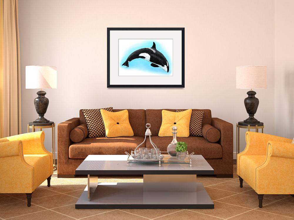 """""""Killer Whale&quot  (2009) by inkart"""