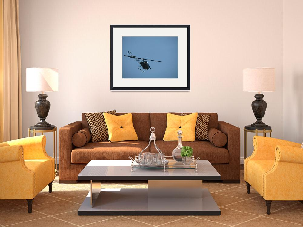 """""""Helicopter in Flight&quot  (2008) by alisonwest"""