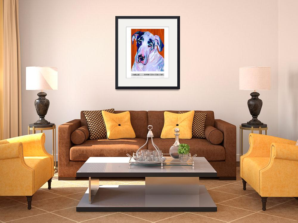 """""""Harlie The Great Dane""""  by artpaw"""