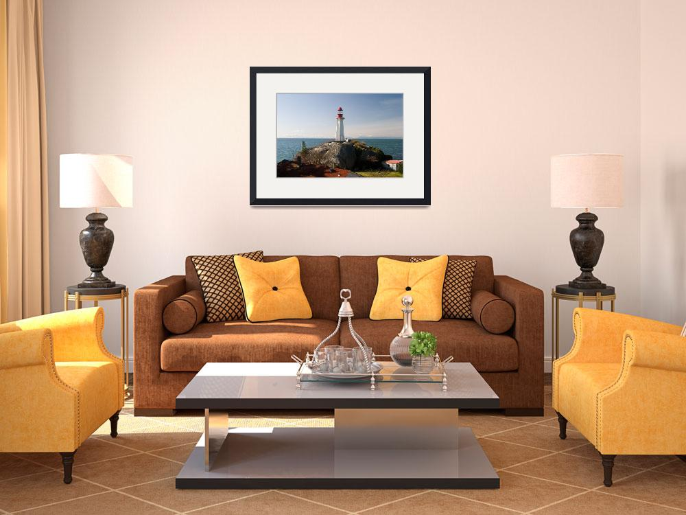 """""""Atkinson Point Lighthouse II&quot  by rickparsons"""