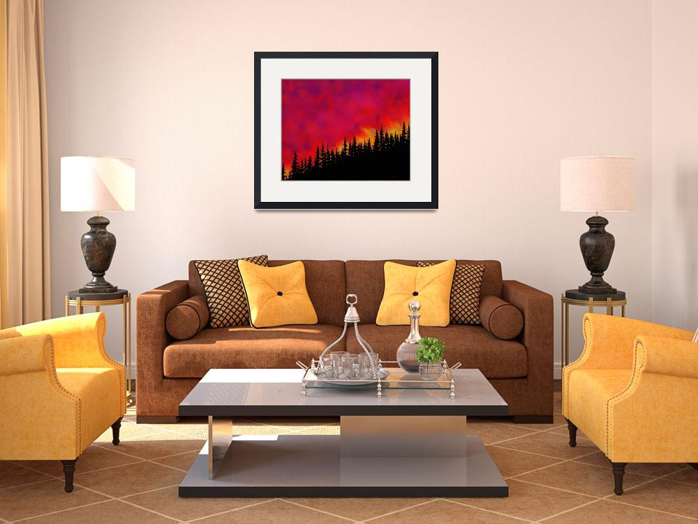 """""""Sky On Fire&quot  (2006) by TimStringer"""