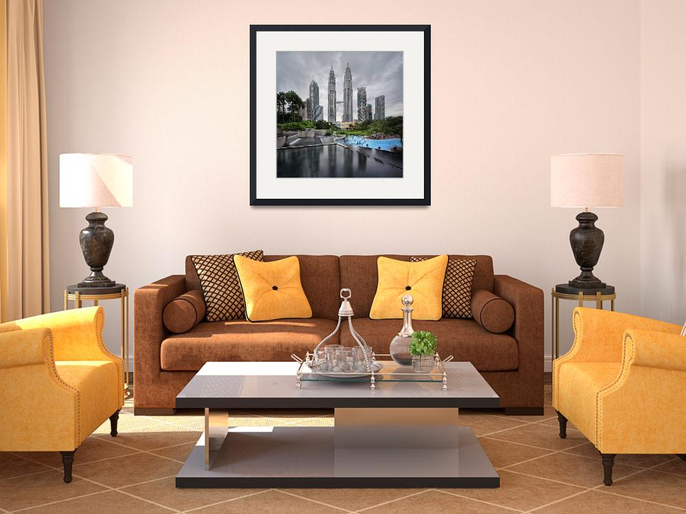 """""""The Petronas Twin Towers&quot  by vedd"""